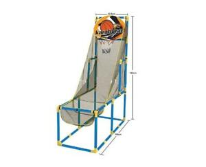 Arcade Basketball Hoop Game & Single Basketball Shootout Indoor Shot System - Ship accross Canada