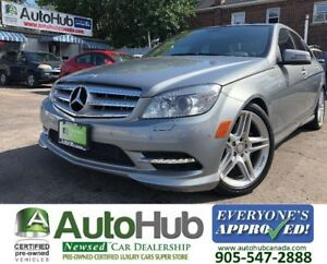 2011 Mercedes-Benz C-Class C350-4MATIC-PANORAMIC ROOF-NAV-BACKUP
