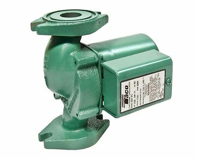 Taco 125 Hp Circulator Pump Water Cast Iron Hydronic Heating Residential Quiet