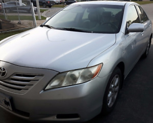 2007 Toyota Camry LE Sedan with Winter Tires