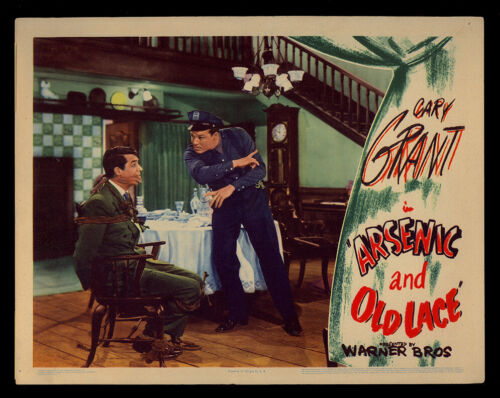 ARSENIC and OLD LACE - B - (1944) Original Lobby Card
