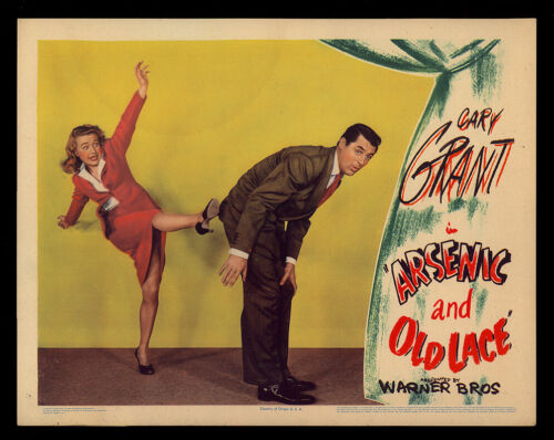 ARSENIC and OLD LACE - C - (1944) Original Lobby Card