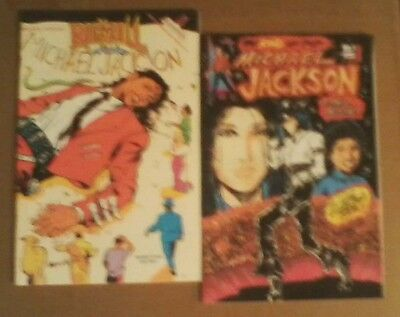 Lot of 2 Michael Jackson comic books