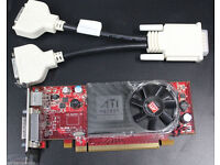 ATI FireMV 2250 PCI-E Multi View 256MB Graphics Card + Dual VGA Splitter Cable