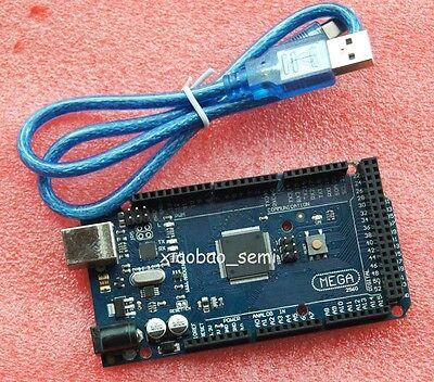 Mega 2560 R3 Atmega2560-16au Atmega16u2 Board Usb Cable For Arduino Compat