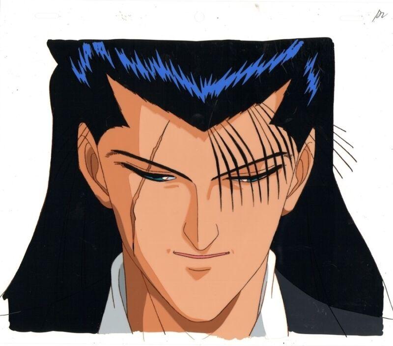 Anime Cel Yu Yu Hakusho #123