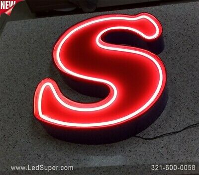 Neon Channel Letter 24 - New - Business Sign - Custom Made