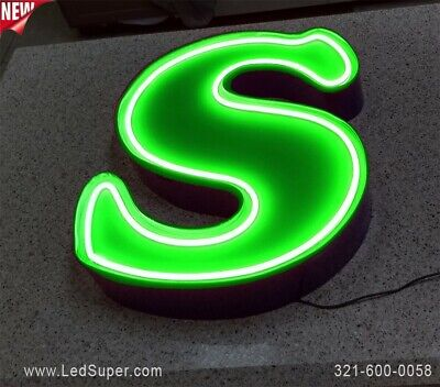 Neon Channel Letter 16 - New - Business Sign - Custom Made
