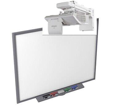 77 Sb680 Interactive Smart Board And Hitachi Ultra Short Throw Hdmi Projector