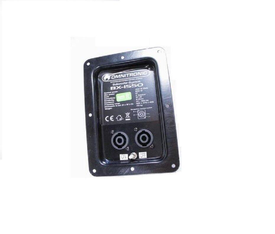 Omnitronic Frequenzweiche mit Anschlussfeld für BX-1850 Lautsprecher Box Speaker