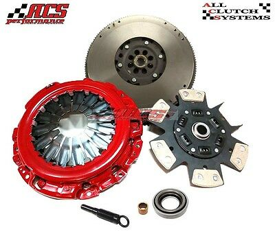 ACS STAGE 3 CLUTCH KIT+DMF FLYWHEEL fits 2005-2014 NISSAN FRONTIER / XTERRA 4.0L