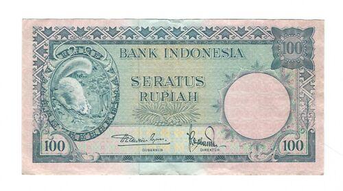 Indonesia - 100 Rupiah   1957