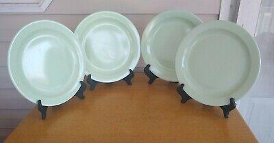 4 1960's Mid Century Boontonware Dinner Plates