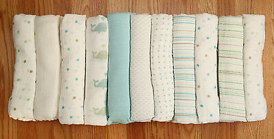 "Aden by Aden Anais Baby Boy Swaddle Blanket  ~ You choose ~ 44"" x 44"""