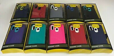 For Samsung Galaxy A20 Case Armor Stand w(Clip fits Otterbox) Cover+Screen