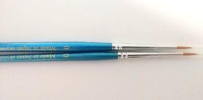 10pcs Skyists Dental Porcelain Brush Pen 0 Dental Lab Equipment Made In Japan