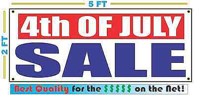 4th OF JULY SALE Banner Sign NEW XXL Size Best Quality for the $$$$