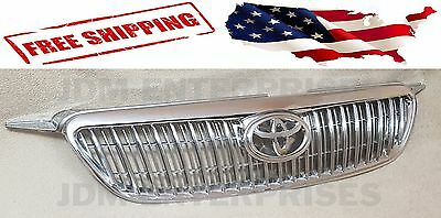Toyota Chrome Grill - NEW TOYOTA COROLLA 2003-2008 ALTIS CHROME GRILL WITH TOYOTA EMBLEM 04 05 06 07