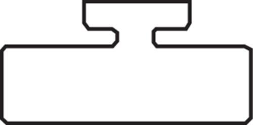 GARLAND SLIDE, KAWASAKI BLACK 14-4775-2-01-01