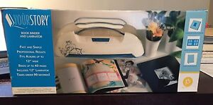 Yourstory book binder and laminator