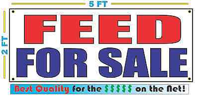 FEED FOR SALE Banner Sign NEW Size Best Quality for The (Best For Sale Signs)