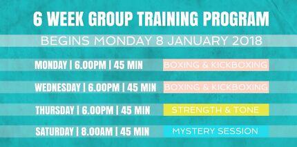 6 Week Group Training Program (MELISSA FITNESS)