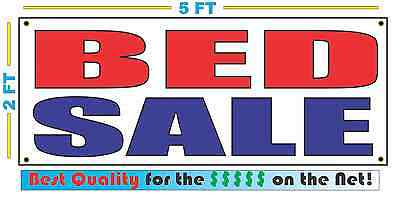 BED SALE Banner Sign NEW Size Best Quality for The