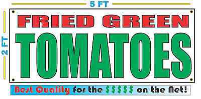 FRIED GREEN TOMATOES Banner Sign NEW Larger Size Best Quality for The