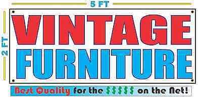 Vintage Furniture Banner Sign New