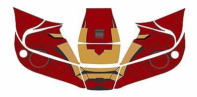Miller Titanium Classic 9400 1600 Vsi I Open Face Welding Decal Sticker Iron Man
