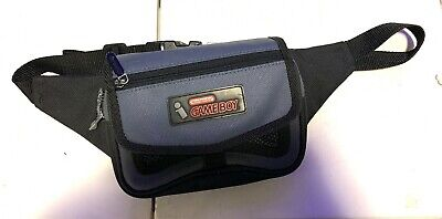 Used, Vintage NINTENDO Game Boy Carrying Case Fanny Pack Adjustable Waist Bag for sale  Shipping to India