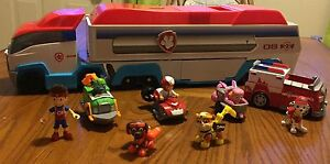 9 piece Paw Patrol Lot