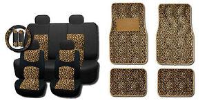 Cheetah Seat Covers Ebay