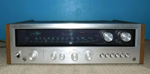 Kenwood KR-5400 AM/FM Stereo Receiver Works & Looks Great Free Shipping