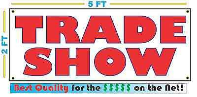 Full Color TRADE SHOW Banner Sign NEW LARGER SIZE Best Quality for the (Best Trade Show Banners)
