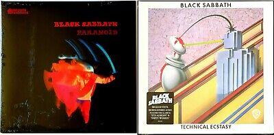 Black Sabbath - Paranoid + Technical Ecstasy 180-gram LP Vinyl Record Album Lot
