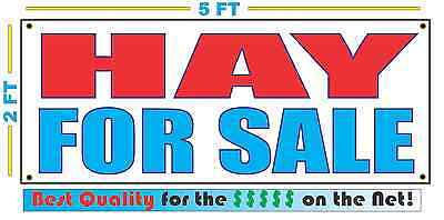 HAY FOR SALE Banner Sign NEW Larger Size Best Quality for the (Best For Sale Signs)