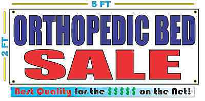 ORTHOPEDIC BED SALE Banner Sign NEW Larger Size Best Quality for the