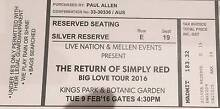 Simply Red Tickets East Perth Perth City Preview