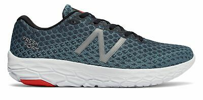 New Balance Men's Fresh Foam Beacon Shoes Blue With Red & Wh
