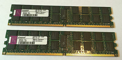 8GB (2x 4GB) KINGSTON RAM DDR2 PC2-6400P 800MHz ECC Registered