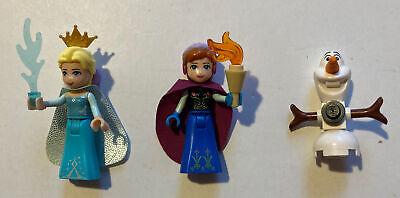 Lego Frozen Minifigures Elsa, Anna, Olaf Set 41062