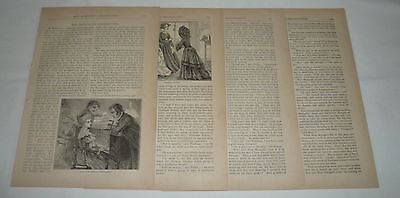 1871 Article (1871 article with engravings ~ MISS MARIGOLD'S)