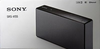 NEW Sony SRS-X55 Portable Bluetooth Speaker - Black