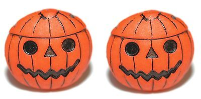 PUMPKIN JACK O LANTERN HALLOWEEN CUFF LINKS (006a - Halloween Links