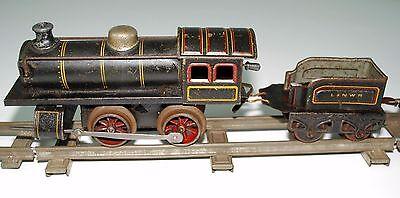 Eisenbahn Gleise Uhrwerk Lokomotive Waggons L&NWR