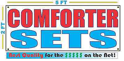 COMFORTER SETS Banner Sign NEW Larger Size Best Quality for the