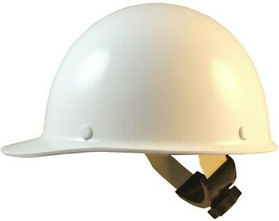 Msa Skullgard Cap Style With Swing Suspension - White