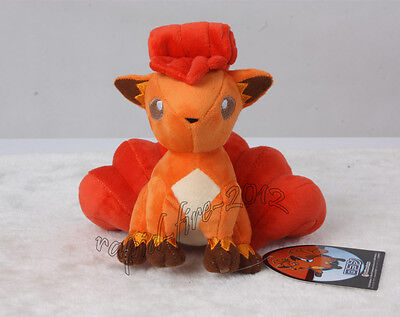 New Pokemon Center Vulpix Plush Toy Figure Doll 7 Inch Great Gift