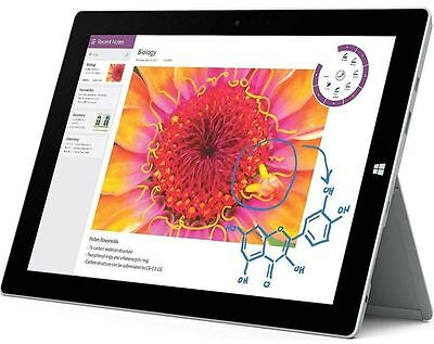 """Microsoft Surface 3 64GB 10.8"""" LTE (AT&T) 2GB Win 8.1  Wi-Fi Tablet PC"""